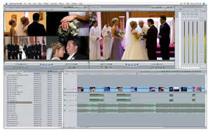 Final Cut Pro Editing Window